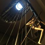 The quirky spiral staircase