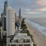 view towards surfers paradise