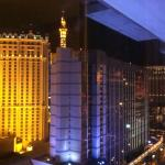 View from room - 23rd floor - we could see the Bellagio Fountains!