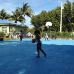 Basketball courts -Indies Club kids area...great recreation spot!
