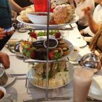 Afternoon Tea in the restaurant - delicious!
