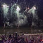 Party on the beach June 2014 fire works