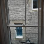 View from our room at Motel One Edinburgh Royal