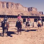 Horse riding at Red a Cliffs lodge