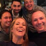 Some of the great team at the bar (Loews Boston)