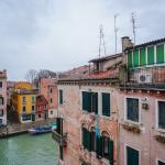 Family Trip - Venice, Italy.  This is the view from our room terrace.