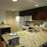 2 bedroom suite - kitchen area