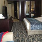 Comfortable large sized rooms