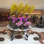 Lobby Flower Arrangements