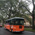 TROLLEY WAS GREAT FOR SEEING THE HISTORIC SAVANNAH