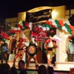 "Mexican fiesta Forklorico dancers and these ""tribal"" dancers.  Really fun!"
