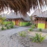 Some of the available rooms on the beach