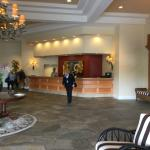An opulent looking lobby