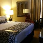 My Bedroom at Crowne Plaza Hotel Astor-New Orleans
