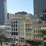 View from Room at Crowne Plaza Hotel Astor-New Orleans