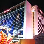 External Shot of Flamingo Hotel at Night #1