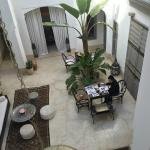 The Riad main area