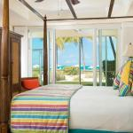 All master bedrooms overlook Grace Bay
