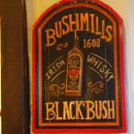 Bushmills, known for it's Whiskey