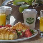 Light Continental Breakfast Delivered to Your Room