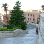 The top of the Spanish Steps