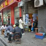 Wuhan - just few blocks away from hotel, real local life