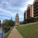 Hotel from the Riverwalk