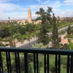 view from deluxe Koutoubia room