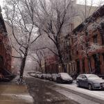 Jane Street, one day snowing