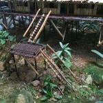 Longhouse miniature at the lobby