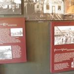 Cape fox Lodge history 2nd floor display