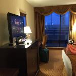 Our room with view of the Arch