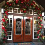 Entrance to The Inn at Christmas Place