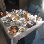 Our daily room service breakfast which was always perfect!