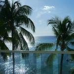 View from our oceanfront room
