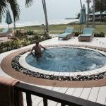 Your own pool with ocean in the background