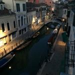 View from our room at the palazzo odoni in venice