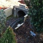Mini train tunnel