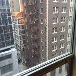 Our beautiful view of the Power and Light District