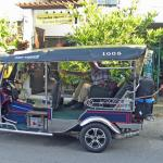 Tuk-tuk arranged by Top Garden Guesthouse