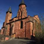 The village church in Collonges la Rouge ...with working bells!