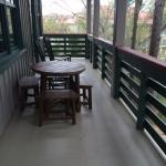 very large balcony with one bedroom villa