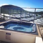 Our private rooftop spa