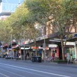 Swanston Street taken at 7:00am. Nice and quiet