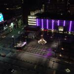 View of Fountain Square from the Westin Hotel.