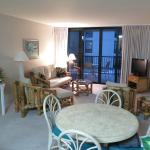 Living & dining area, 1-br condo #216