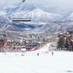 Snowmass Village, Mall and Ski Area next to Hotel