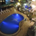 pool area from room