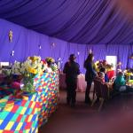 Tea party at Easter Amber express 2015