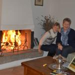 End of March - roaring fire